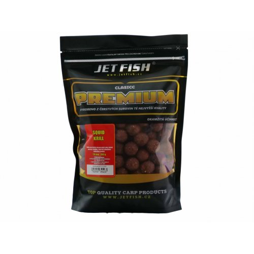Jet Fish Premium clasicc boilie 700g - 20mm : SQUID/KRILL