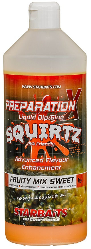 Starbaits Booster PREP X SQUIRTZ FRUITY MIX SWEET 1L
