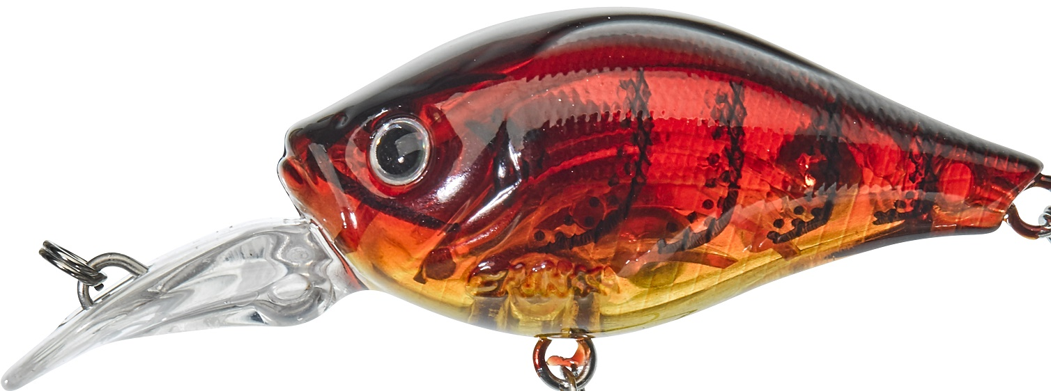 Gunki Gigan 3,9cm F Ghost Red Craw