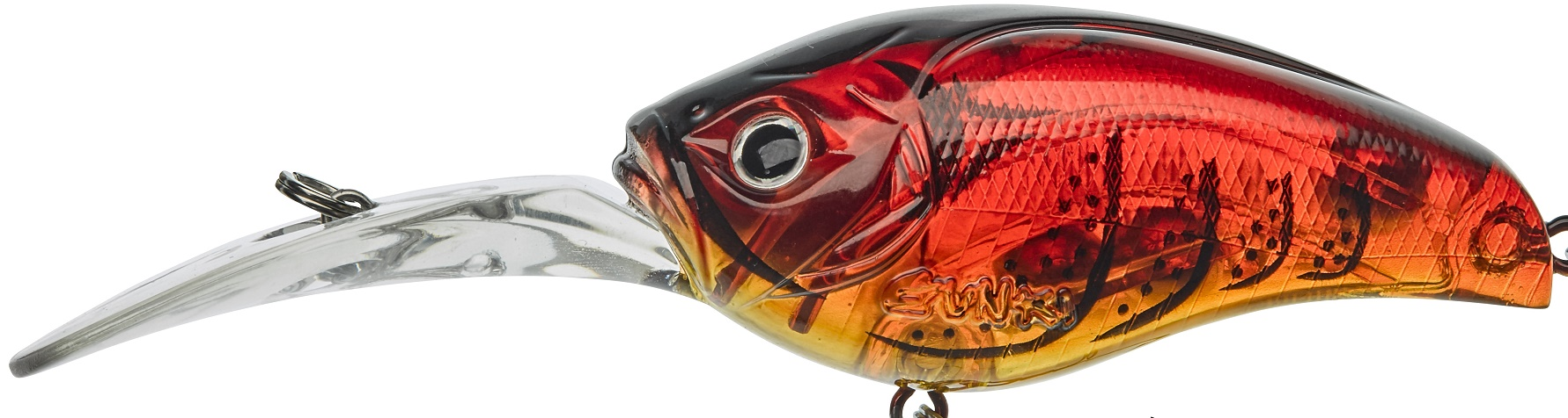 Gunki Gigan 6,5cm F Ghost Red Craw