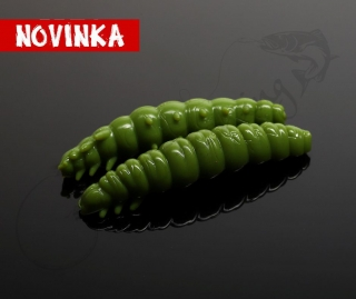 LIBRA LURES Larva 30 – Olive 031 (Cheese) – 15ks/bal