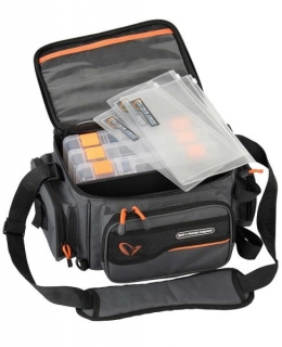 Savage Gear System Box Bag 3Boxes PP Bags M