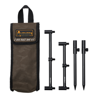 Prologic Avenger Buzz Bar Kit & Carrycase 2 Rod 20-34cm