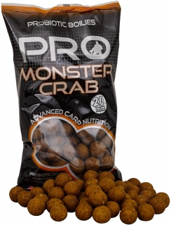 Starbaits Pro Monster Crab - Boilie potápivé 1kg 20mm